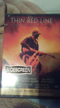 The Thin Red Line DVD case Long Beach, 90804