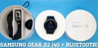 Samsung Gear S2 (Cellular + Bluetooth) Like-New Arlington