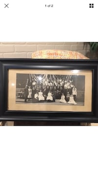 Antique picture 1903 with frame