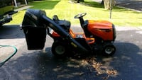 black and orange ride on lawn mower Annandale, 22003