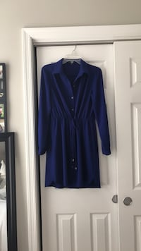 EUC Blue Shirt Dress Clarksburg, 20871