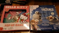 Hello Kitty and Frozen games Chicago, 60634