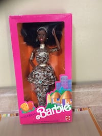 1989 Nigerian Barbie Doll of the world collection. Brand new. Box never opened.