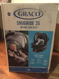 Brand new Graco snugride 35 car seat $200+ retail   506 km