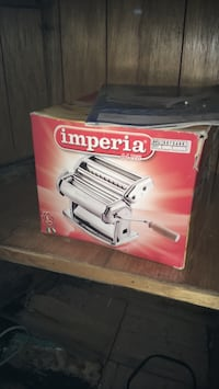 white and red Coleman Powermate air compressor box Toronto, M6G 1X2