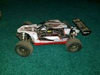 white and red RC monster truck Bangor, 18013