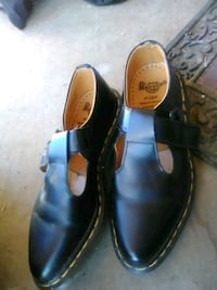 pair of black leather shoes Amarillo, 79106