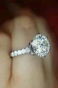 VISIT SHOWROOM.LAYAWAYok 2.50 carat diamond engagement ring