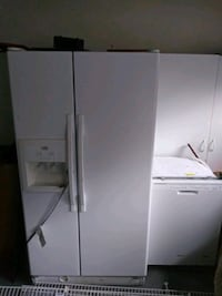 white side-by-side refrigerator with dispenser Fayetteville, 28306