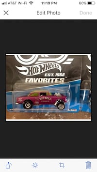 Hot wheels '55 Bel Air Gasser    Fan Favorites Collection Real Riders