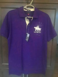 purple and white Adidas polo shirt Bradford West Gwillimbury, L3Z 2A6
