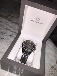 Michael hill diamond watch with certificate of authenticity  Burnaby, V5J 1P5
