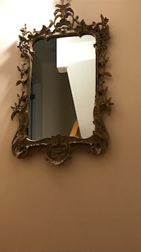 Antique mirror with brown frame New York, 10308