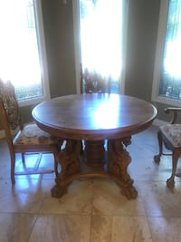 Hand carved solid wood made in the USA