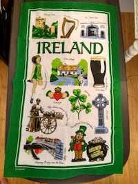 Irish tea towel Ireland