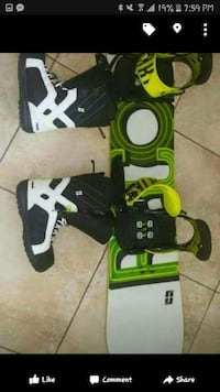 black, green and white snowboard Dartmouth, B2W 1E6