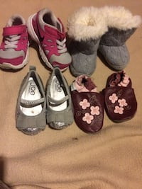 toddler's three pairs of shoes Calgary, T2A 5R6