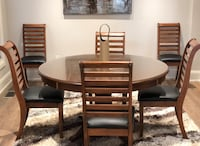 SOLID WOOD TABLE SET  AND SOLID WOOD DESK Vaughan, L6A 1B1