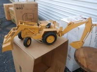 white and yellow dump truck toy Sterling Heights, 48313