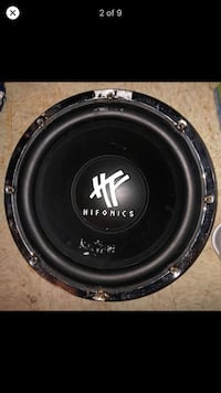 Car subwoofer Hifonic