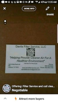 Filter Service and coil cleaning Wichita Falls