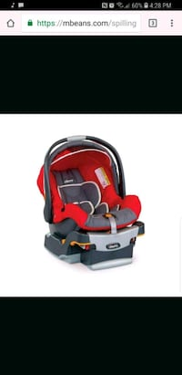 baby's red and gray car seat carrier screenshot Fort Erie, L2A 2A3