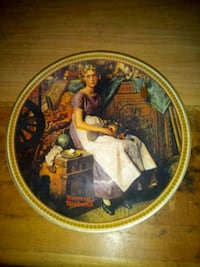 Norman Rockwell numbered collector plate  Toronto, M6P 2X8