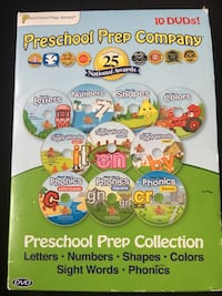 Preschool Prep Series Collection 10 DVD Disc Set