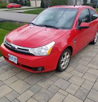 Ford Focus Red 2008 SES Fully Loaded  Mississauga