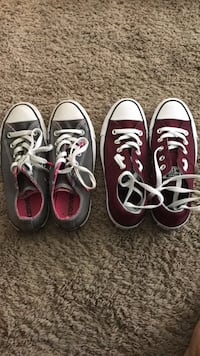 Two pairs of white and black low-top sneakers Nevada, 50201