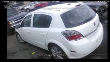2008 saturn astra parting out