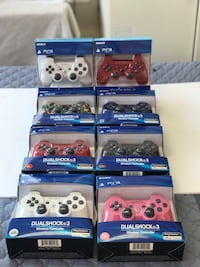 PS3 controllers NEW in box! pick up Only! Brampton, L6Y 4G6