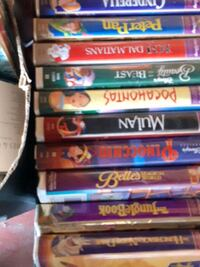 Disney vhs movies Mississauga, L4Z
