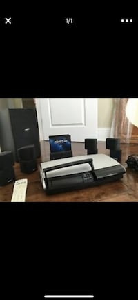 black and gray home theater system Ashburn, 20148