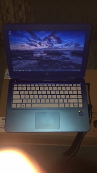 Blue HP Stream laptop 13inch Annandale, 22003