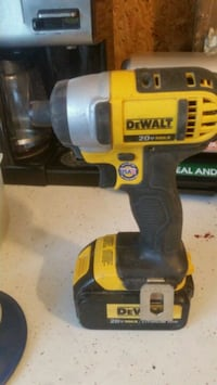 yellow and black Dewalt cordless power drill Rootstown
