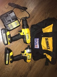 DEWALT 20-Volt MAX Lithium-Ion Cordless Drill/Driver and Impact Combo Kit (2-Tool) with (2) Batteries 1.3Ah, Charger and Bag Oklahoma City