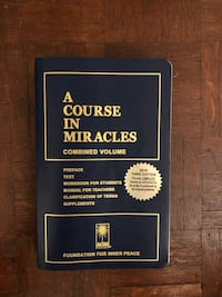 A course in Miracles Book Oakville, L6H 2P5
