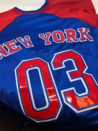 191996 New York All Star League Vintage Jersey.