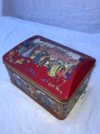 950 Anniversary Schuhmann German Tin Music Box Danbury, 06811