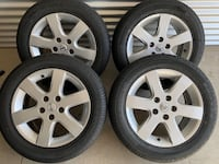 4 x 215/55/16 BRAND NEW TIRES ALL SEASON WITH RIMS $$$500 Kitchener