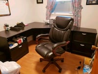 Office Desk with Chair Troy, 12182