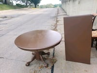 pedistal table with leaf Omaha, 68144