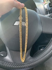 Gold Plated Chain 18K  Mount Joy, 17552