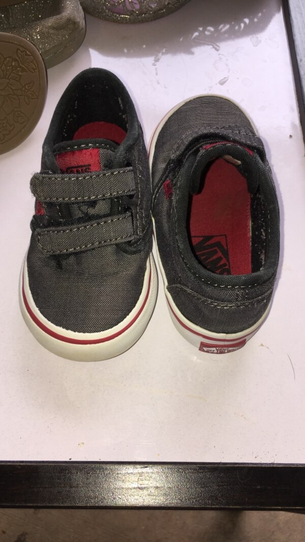 1d9b3e850 Used Toddler size vans size 6 for sale in Fairmount - letgo