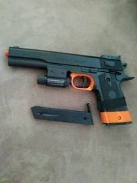 black and red airsoft pistol Los Angeles, 90018