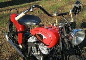 Vintage motorcycle just for that special person