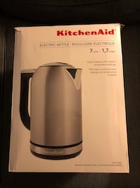 Stainless steel kitchenaid electric kettle box Toronto, M4T