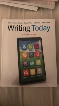 Writing today  Mississauga, L5N 8G8