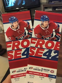 Habs vs Cane All you can eat Montréal, H4C 2T5